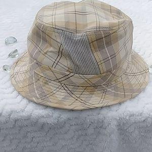 EUC Broner Mens Plaid Cotton Hat